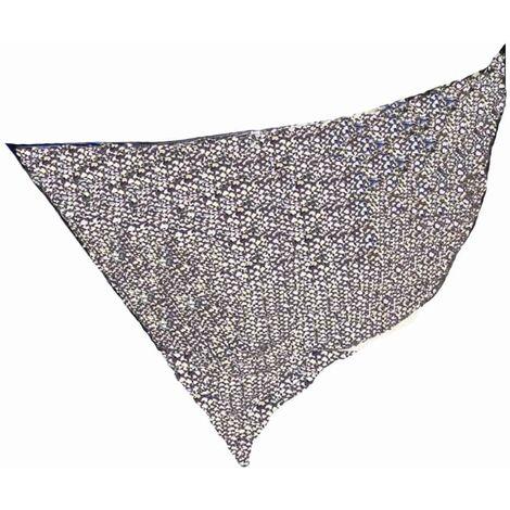 Filet d'ombrage rectangulaire bicolore