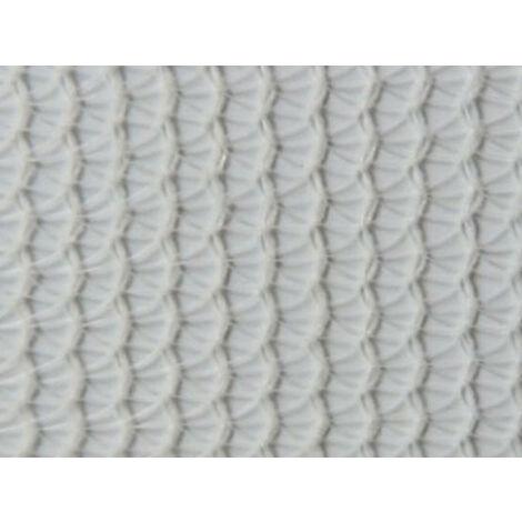 Filet échafaudage 100g/m² triangulaire serrée et extensible Blanc 3m x 20m - Blanc