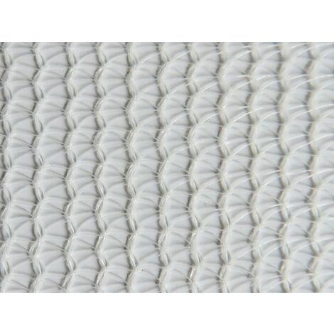 Filet échafaudage 50g/m² léger - Triangulaire Blanc 2.57m x 10m - Blanc