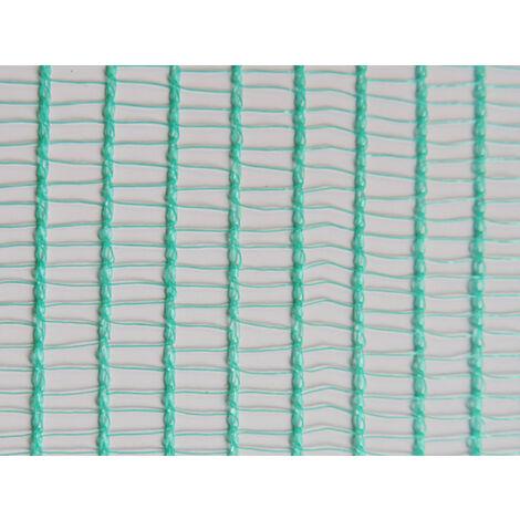 Filet échafaudage 50g/m² - Rectangulaire - Pose rapide Vert 3m x 20m - Vert