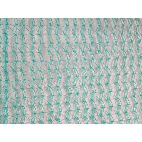 Filet échafaudage 72g/m² - Triangulaire - Chantier de moyenne durée Vert 2.57m x 50m - Vert