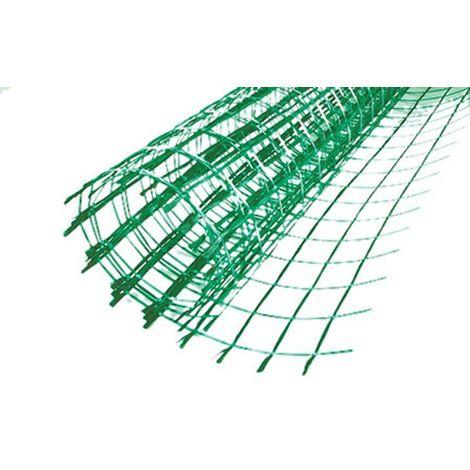 Filet en fibre de verre traité avec anti-alcalin pour le renforcement des chapes en béton. Maille 40x40mm - Rouleau 50 m²