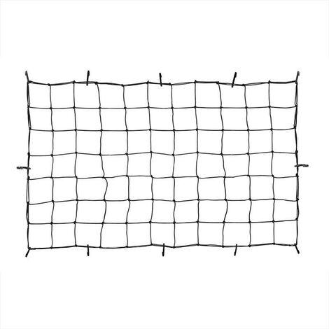 Filet extensible pour coffre et remorque 90x150cm avec crochets en plastique