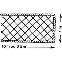 Filet périphérique 1 m x 10 m ALTRAD avec ralingue Ø 8 mm - P6227 - -