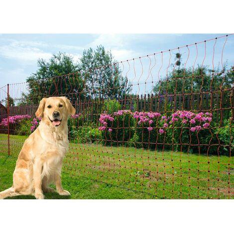 Filet Pour Poule Simple Pointe Orange 50m Poultrynet - Kerbl