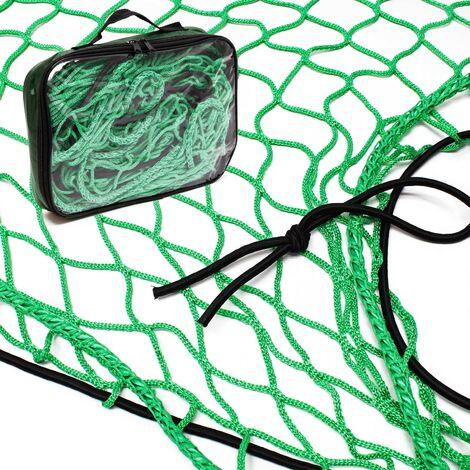 WilTec Filet Remorque Transport Bagages S/écurit/é Charge Protection Filet Arrimage 3 x 6 m Conteneur Halage