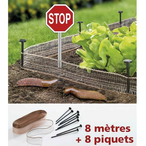 Filet stop limaces et escargots 8 m