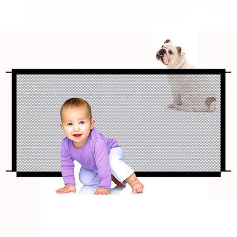 Filete de aislamiento de nylon para mascotas Sin perforacion / plegable / facil de instalar / acceso facil