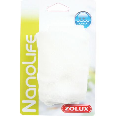 Filets nylon pour masse filtrante 4 à 6 litres. pour aquarium. x2