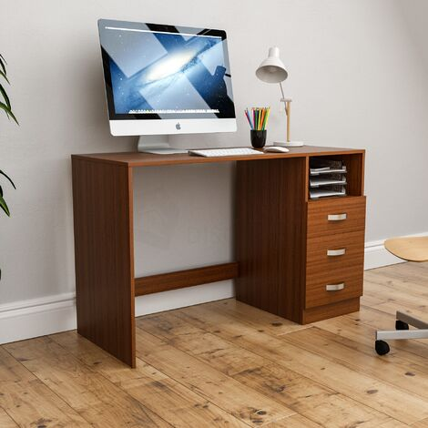 Filey Computer Desk, Walnut