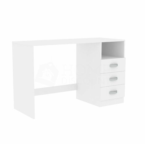 Filey Computer Desk, White