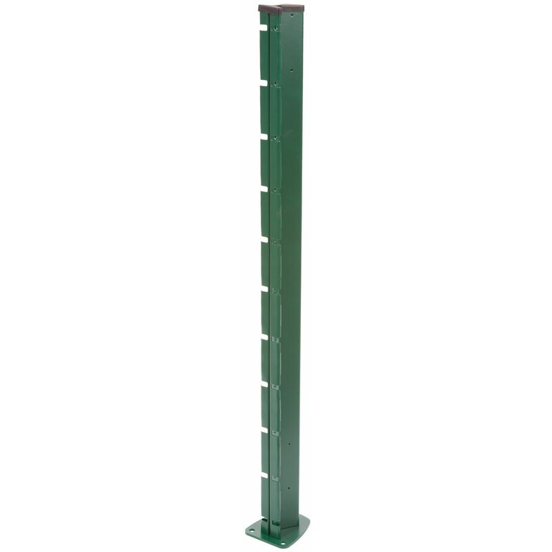 Poteau à encoches VERT - H. 1,57 m
