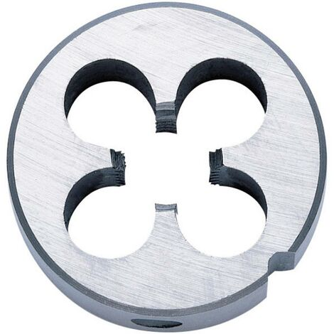 Filiera metrica a passo fine M12 Taglio destrorso Exact 03923 DIN 223 HSS 38 mm 10 mm