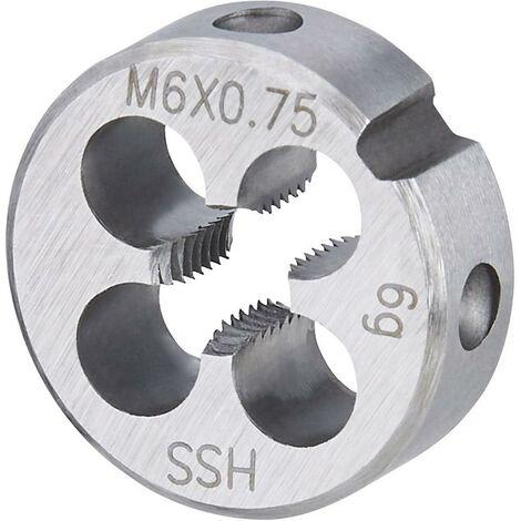 Filière EN22568 HSS M8x0,50 FORTIS 1 PCS