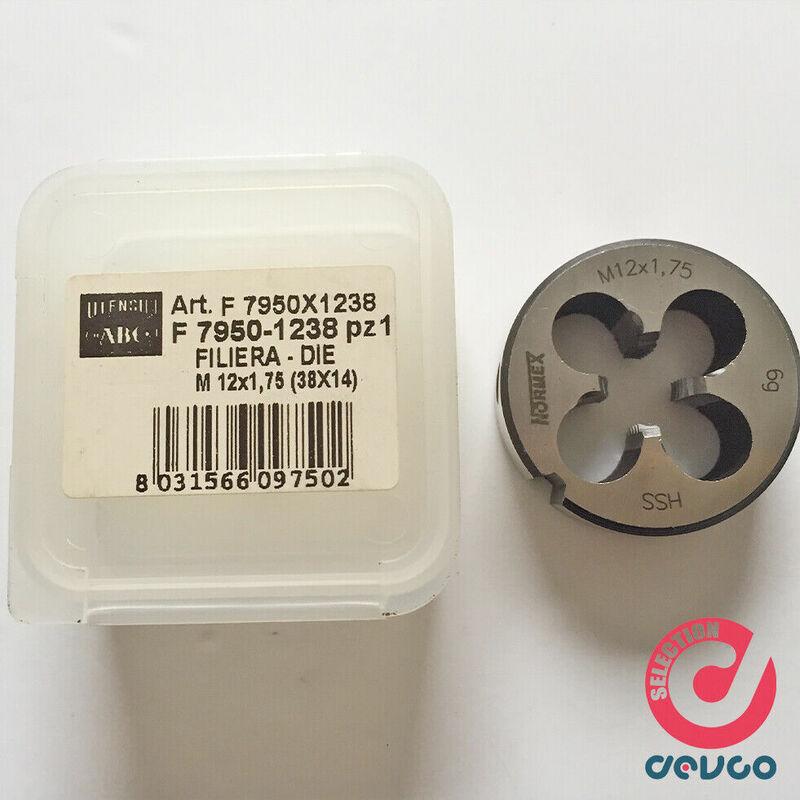 Image of Abc Tools - Filiera tonda M8 Passo 1,25mm D25xH9mm codice F 7950 8025 ABC