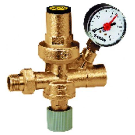 """Filling unit 553 mf1/2"""" pressure gauge"""