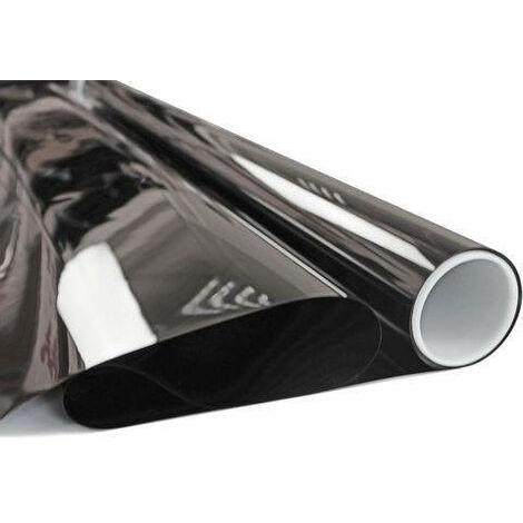 Film adhésif opaque noir total - 0.75 m x 1 m (NT1152)
