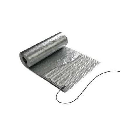 Film aluminium chauffant spécial rénovation Soleka - Parquet flottant - 150W - 1.5m²