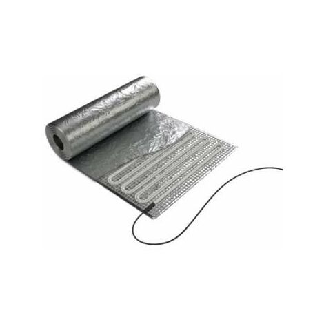 Film aluminium chauffant spécial rénovation Soleka - Parquet flottant - 400W - 4m²