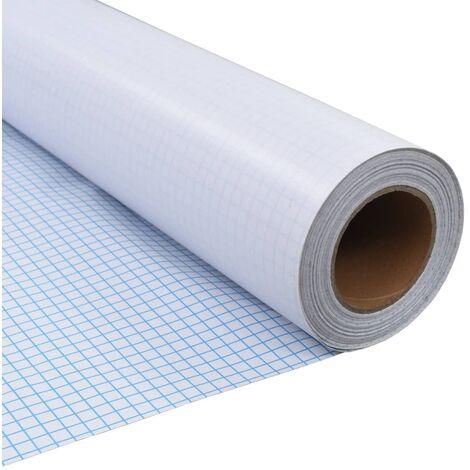 Film autoadhésif d'intimité pour fenêtre Verre laiteux 0,9x10 m