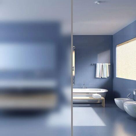 Film autoadhésif d'intimité pour fenêtre Verre laiteux 0,9x5 m