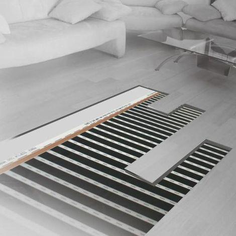 Film chauffant plancher flottant longueur 3 m 130 W/m² largeur 1 m