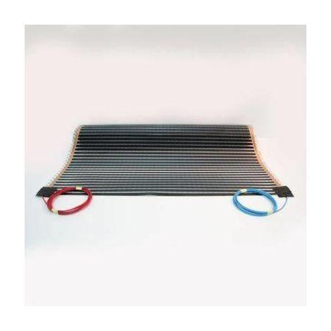 Film chauffant plancher flottant longueur 3,5 m 130 W/m² largeur 1 m