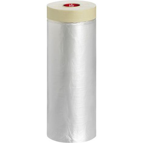 Film de protection avec ruban adhésif 260cm x 25m