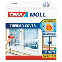 Film de survitrage Thermo Cover Tesa - Longueur 1,7 m - Largeur 1,5 m - Transparent
