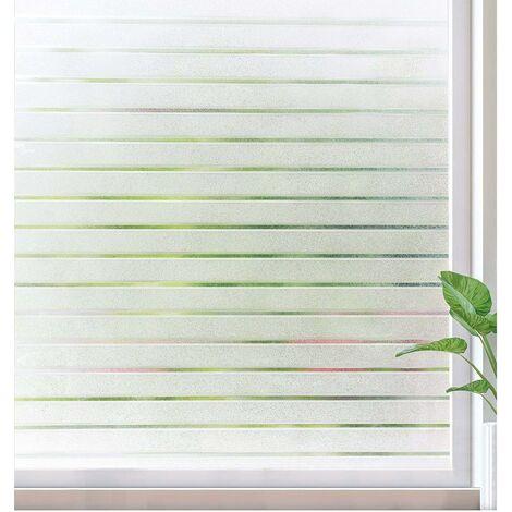 Film de verre fenêtre film décoration murale stores fenêtre pliante 45 cm de large * 100 cm de haut