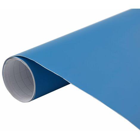 Film de voiture Bleu mat 200x152 cm
