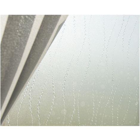 Film décoratif pour vitre vitrostatique Bulle - 150 x 45 cm - Transparent - Transparent