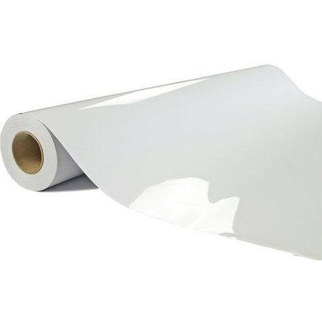 Film électrostatique semi-opaque blanc