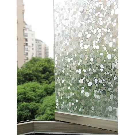 Film Fenêtre Protection Du Vis à Vis Et Déco Sans Colle Statique