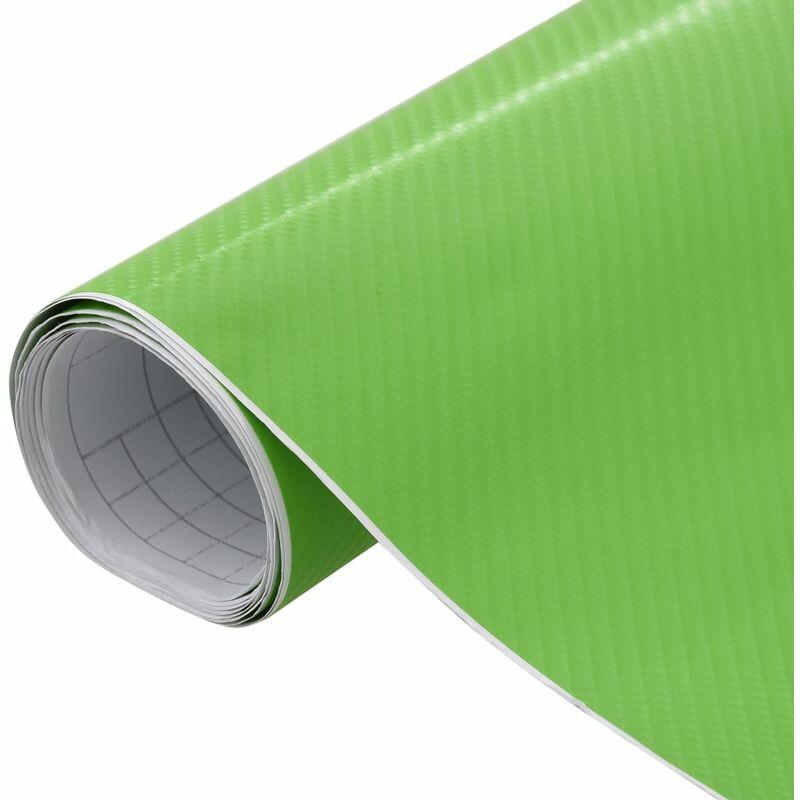 Film mat 4D de voiture Vert 200x152 cm
