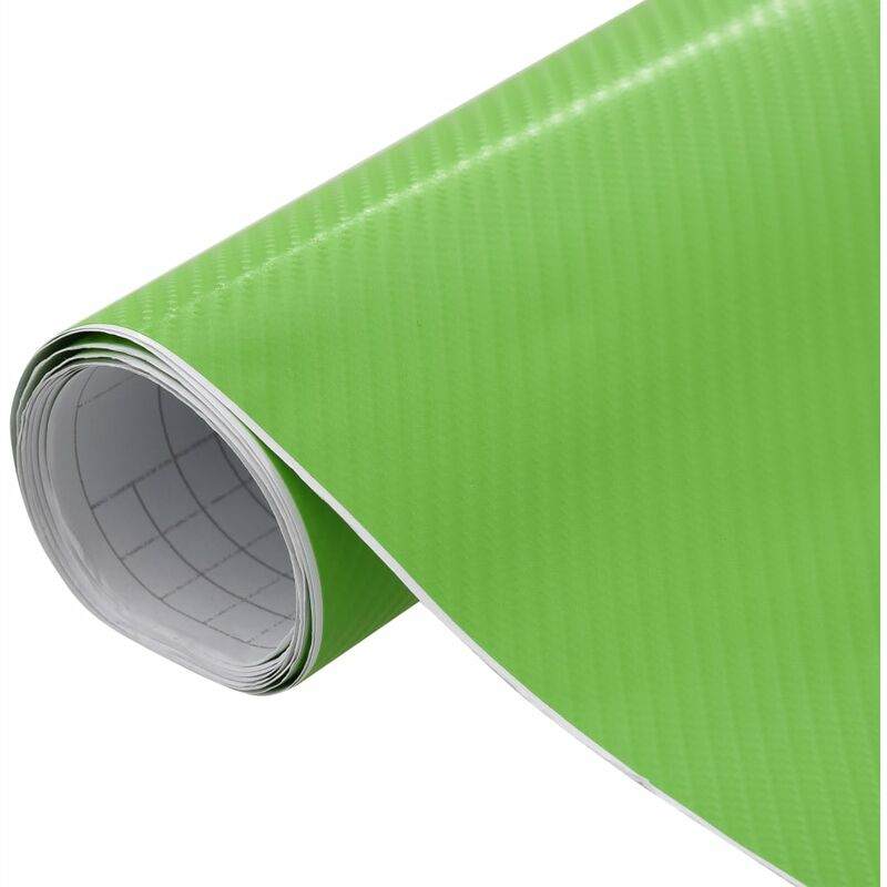 Film mat 4D de voiture Vert 500x152 cm