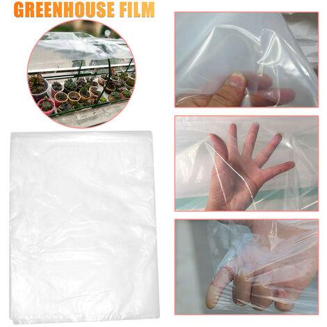 Film plastique transparent en polyéthylène à effet de serre couvrant le film à effet de serre 3m*5m