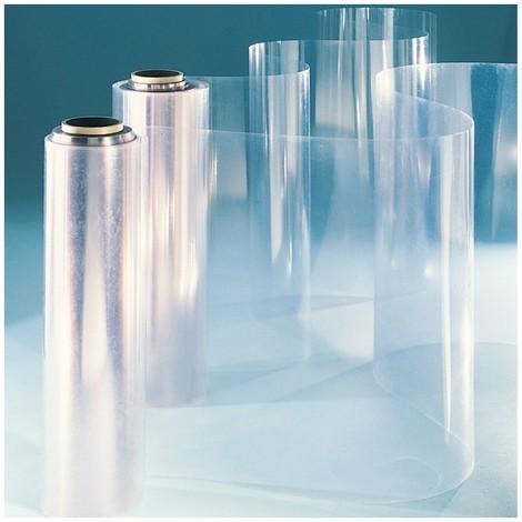 Film PVC plat en rouleau - Coloris - Translucide légèrement bleuté, Epaisseur - 1 mm, Largeur - 1 m, Longueur - 35 m