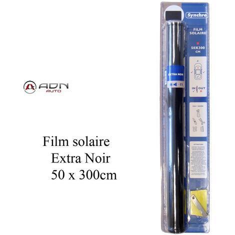 Film solaire - Noir Fonce - 50x300cm