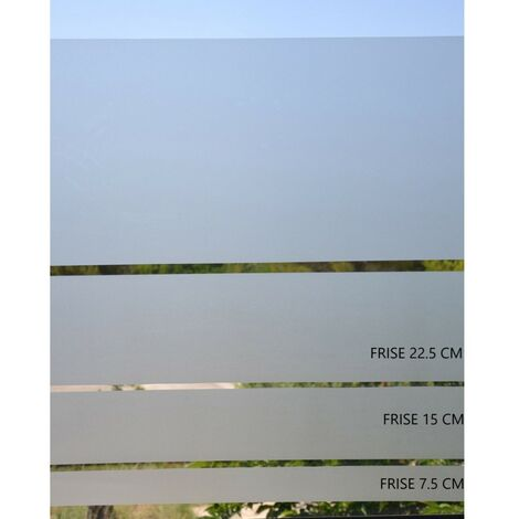 Film vitrostatique Givre