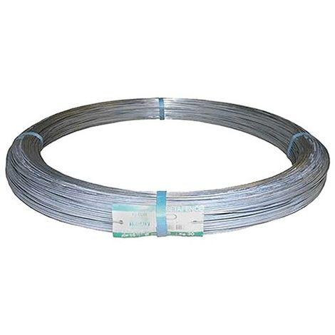 Filo Corda Ferro Plastificato Per legatura di Rete e recinzioni 0,9 mm x 33 m