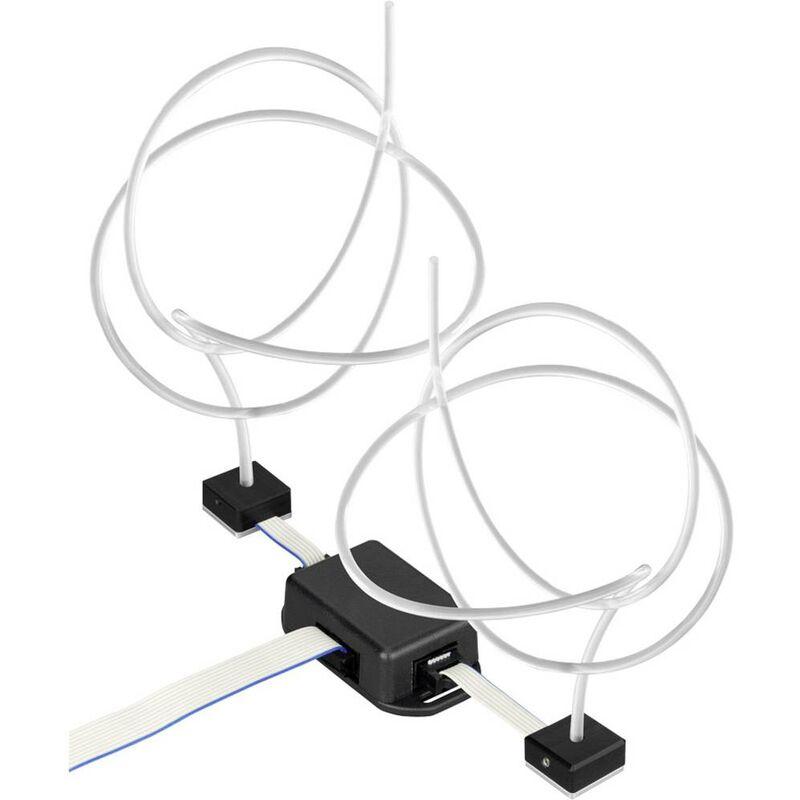 Filo luminoso 5 V 2 m Lichtleiter-Set Maxi RGB - Barthelme
