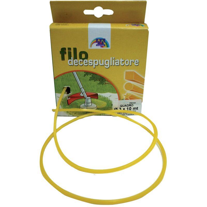 No Brand - Filo in nylon per decespugliatori FILO DECESP.QUADRATO 3X50 MT
