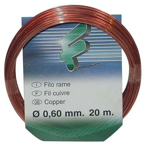 FILOMAT - Fil attache - cuivre - 0.6 mm - 20 m