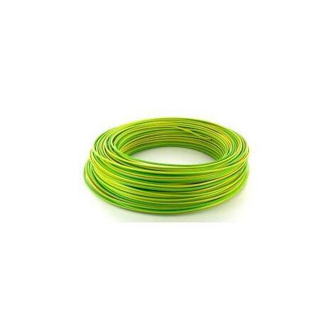 """main image of """"Fils - 100m de fil 1,5mm² bleu rigide câble H07V-U (1225017)"""""""