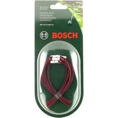 Fils haute performance par 10 -26cm pour Coupe bordures Bosch