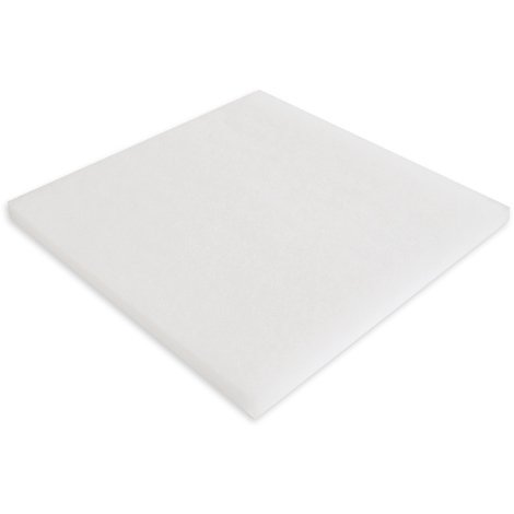 Filter fleece Synfil 300 100x100x2.5cm very fine white for pond or aquarium filter