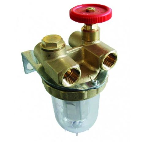 """Filter fuel oventrop 2 pipes block valve ff3/8"""" - OVENTROP : 2120103"""