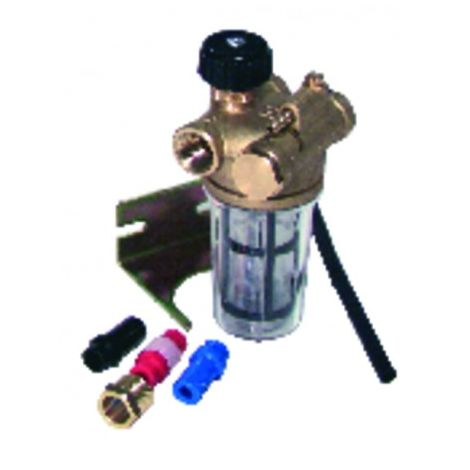 """Filter fuel rz recycling with block valve ff3/8"""" - WATTS INDUSTRIES : 22L0137100"""