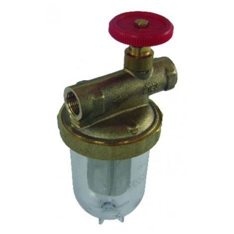 """Filter of fuel pipe with valve ff3/8"""" - OVENTROP : 2123103+2127700"""